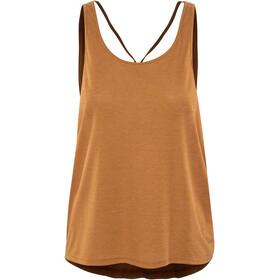 Prana Arbor Naiset Hihaton paita , oranssi